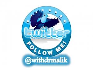 follow dr malik health tweets