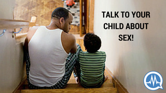 talk to your child about sex