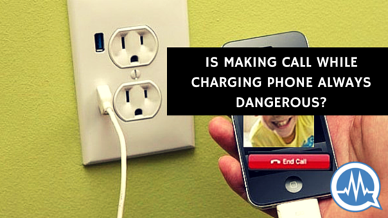 making call while charging phone